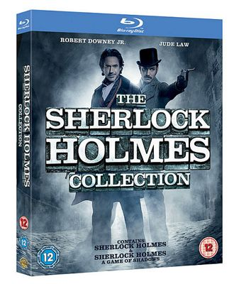 Sherlock Holmes: 2 Film Collection (Blu-ray Boxset)