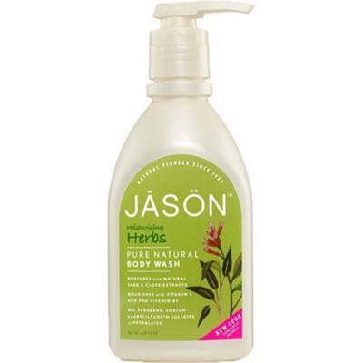 Herbal Satin Body Wash Pump