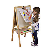 Tikk Tokk 4-in-1 Boss Easel Solid Pine with accessories