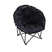 Regatta Castillo Polyester Camping Chair Black