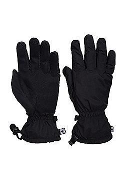 Mountain Warehouse Classic Waterproof Mens Gloves - Black