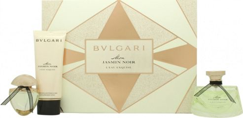 Bvlgari Mon Jasmin Noir L'Eau Exquise Gift Set 75ml EDT + 15ml EDT +