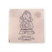 Beauty and the Beast Personalised Coaster (Single)