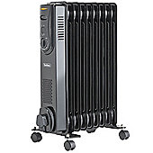 VonHaus 9 Fin 2000W Oil Filled Radiator