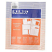 Kenro Negative File Pages 120 Paper - pack of 25