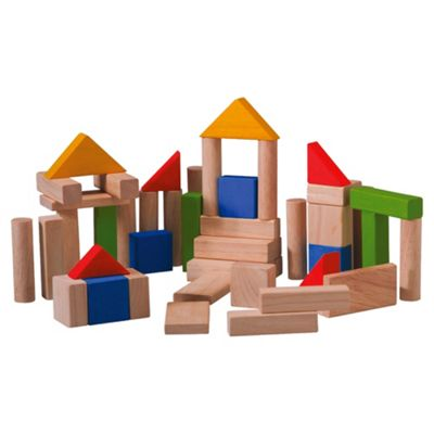 Plan Toys 50 Blocks ,wooden toy