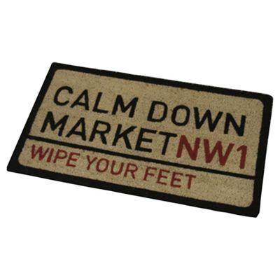 Calm Down Market Outdoor PVC Coir Mat