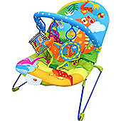 Bebe Style Dino World Baby Bouncer with Music & Vibration