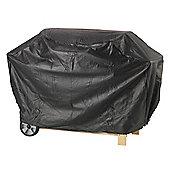Lifestyle 2 Burner Hooded Barbeque Cover (Black)