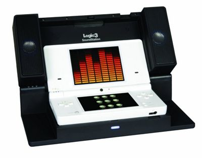 Logic 3 Sound Station for DSi - Black - NintendoDS