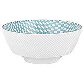 Mosaic Large Turquoise Bowl
