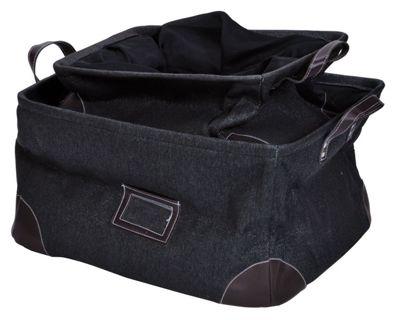 Set of 3 Modern Black Storage Bags