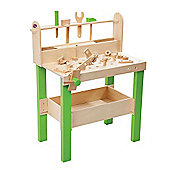 Plum Lumberjack Wooden Workbench with Accessories