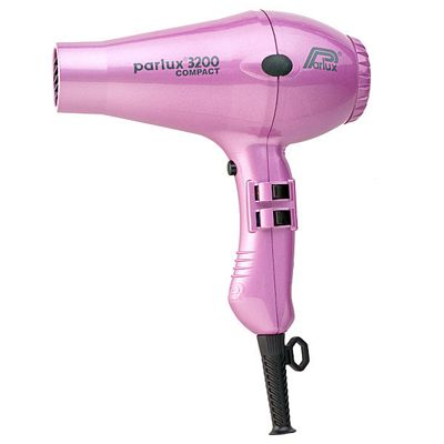 Parlux 3200 Compact 1900W Hair Dryer Pink