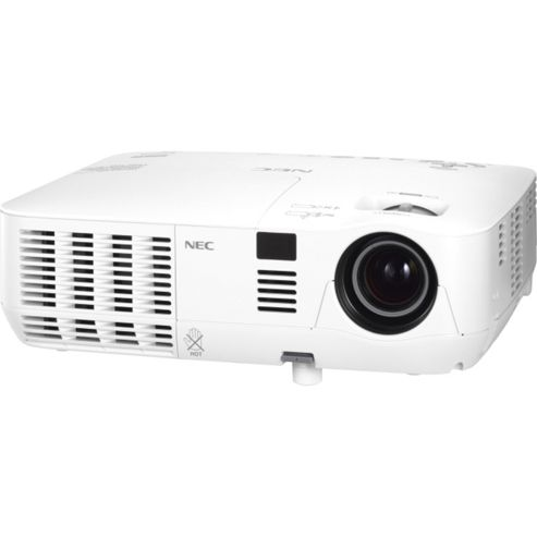 NEC V300W Mobile (3D Ready) DLP Projector 2000:1 3000 Lumens 1280x800 2.5kg (Networked)