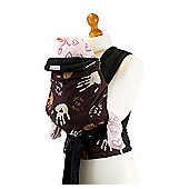 Palm and Pond Mei Tai Baby Carrier – Brown Hand Print