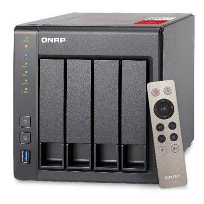 QNAP TS-451+-2G 4-bay High-performance Intel quad-core NAS