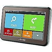 """Mio Spirit 5400LM 5413N5020010 4.3"""" In Car GPS-SatNav IQ Routes *Liftime EU Maps"""