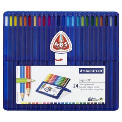 Staedtler Ergosoft Colouring Pencils 24 pack