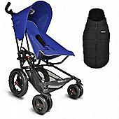 Micralite Fastfold Superlite Classic Stroller (Blue)