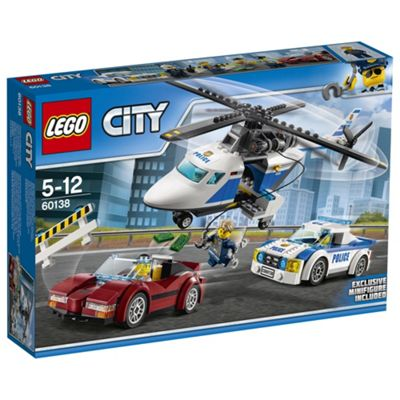 LEGO City Police High-Speed Chase 60138 Building Toy