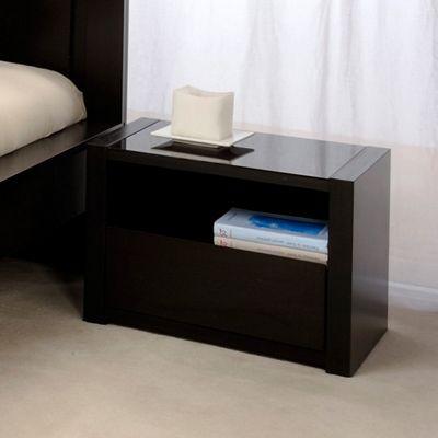 Parisot Plaza Bedside Table in Wenge