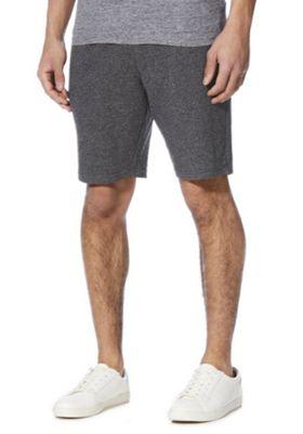 F&F Textured Sweat Shorts Charcoal 4XL