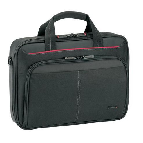 Targus Clamshell Black Nylon Laptop Case for 13.3 inch Notebooks