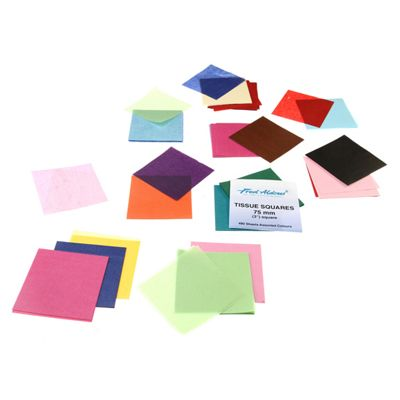 Tissue Squares 75mm (3 Inch)