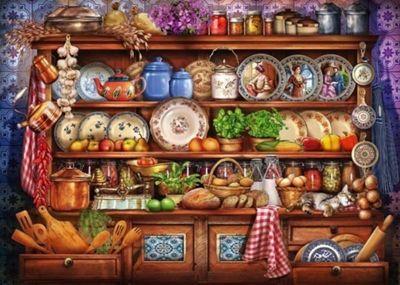 Mums Kitchen Dresser - 1000pc Puzzle