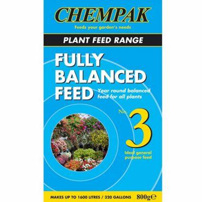 Chempak® Fully Balanced Feed - Formula 3 - 1 x 800g pack