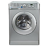 Indesit Innex Washing Machine, BWD 71453 S UK, 7kg, 1400rpm - Silver