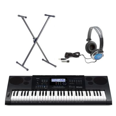 Casio CTK-6200 61 Note Keyboard - Free Accessories