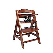 Safetots A Frame Wooden Highchair Walnut