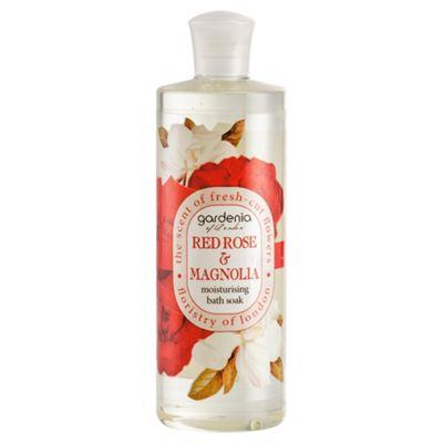 Gardenia of London Red Rose & Magnolia Moisturising Bath Soak