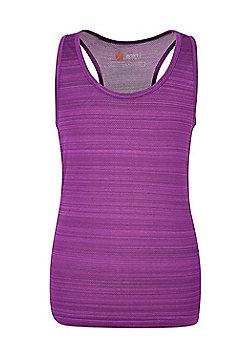 Mountain Warehouse ENDURANCE STRIPE VEST GIRLS - Purple