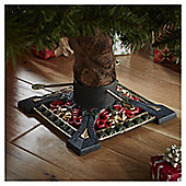"4"" Ornate Christmas Tree Stand"