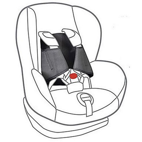 5 Point Plus Car Seat Anti Escape System (2.5-4 Years)