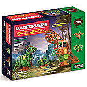 Magformers Walking Dinosaur 81 Piece Set