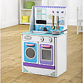 Plum Cook-a-lot Chive Wooden Kitchen
