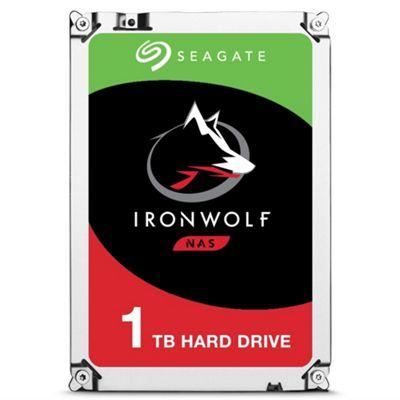 1TB Seagate IronWolf NAS Hard Drive 3.5 SATA III 6GBs 5900RPM 64MB Cache