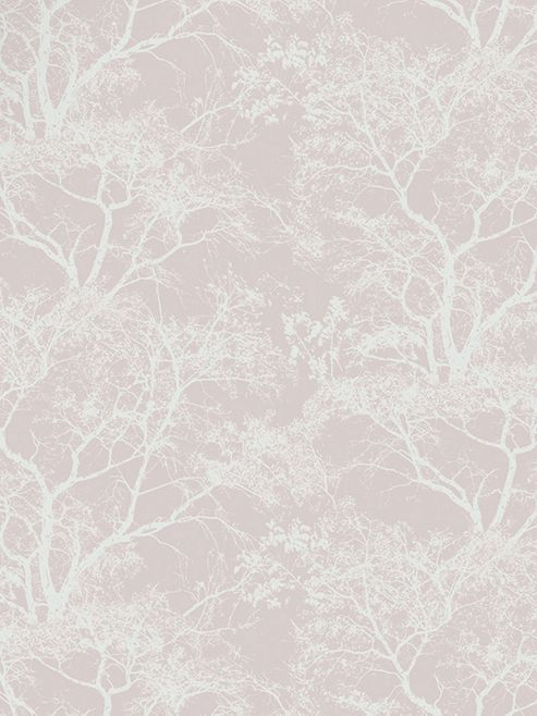 Whispering Trees Wallpaper - Dusky Pink - Holden Decor 65400
