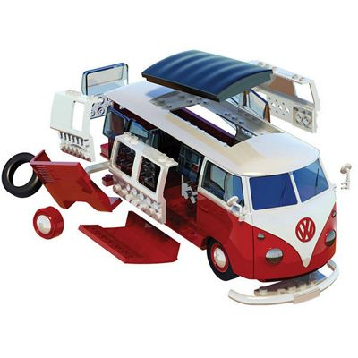 AIRFIX J6017 QUICKBUILD VW Camper Van Car Model Kit