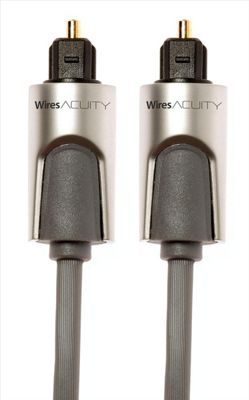 Techlink 720212 3m TOSLINK Grey fiber optic cable