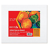 Reeves 12x10 inch Artist Canvas Board