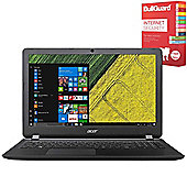 "Acer Aspire ES1-572 - NX.GKQEK.010 - 15.6"" Laptop Intel Core i3-6006U 4GB 500GB Win 10 with Internet Security"