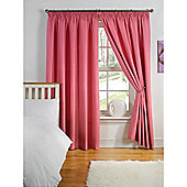 Hamilton McBride Thermal Backed Pencil Pleat Curtains - Fuchsia