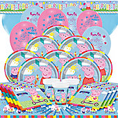 Peppa Pig Party Pack - Deluxe Party for 16