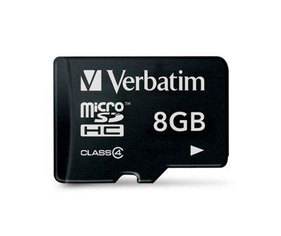 Verbatim microSDHC 8GB Class 4 Card