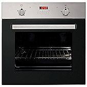 MyAppliances ART28744 60cm Built-in Single Electric Fan Oven in Black / Stainless Steel